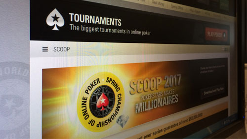 Two $1 million top prize tournaments during Pokerstars $55 million guaranteed  Spring Championship of Online Poker schedule