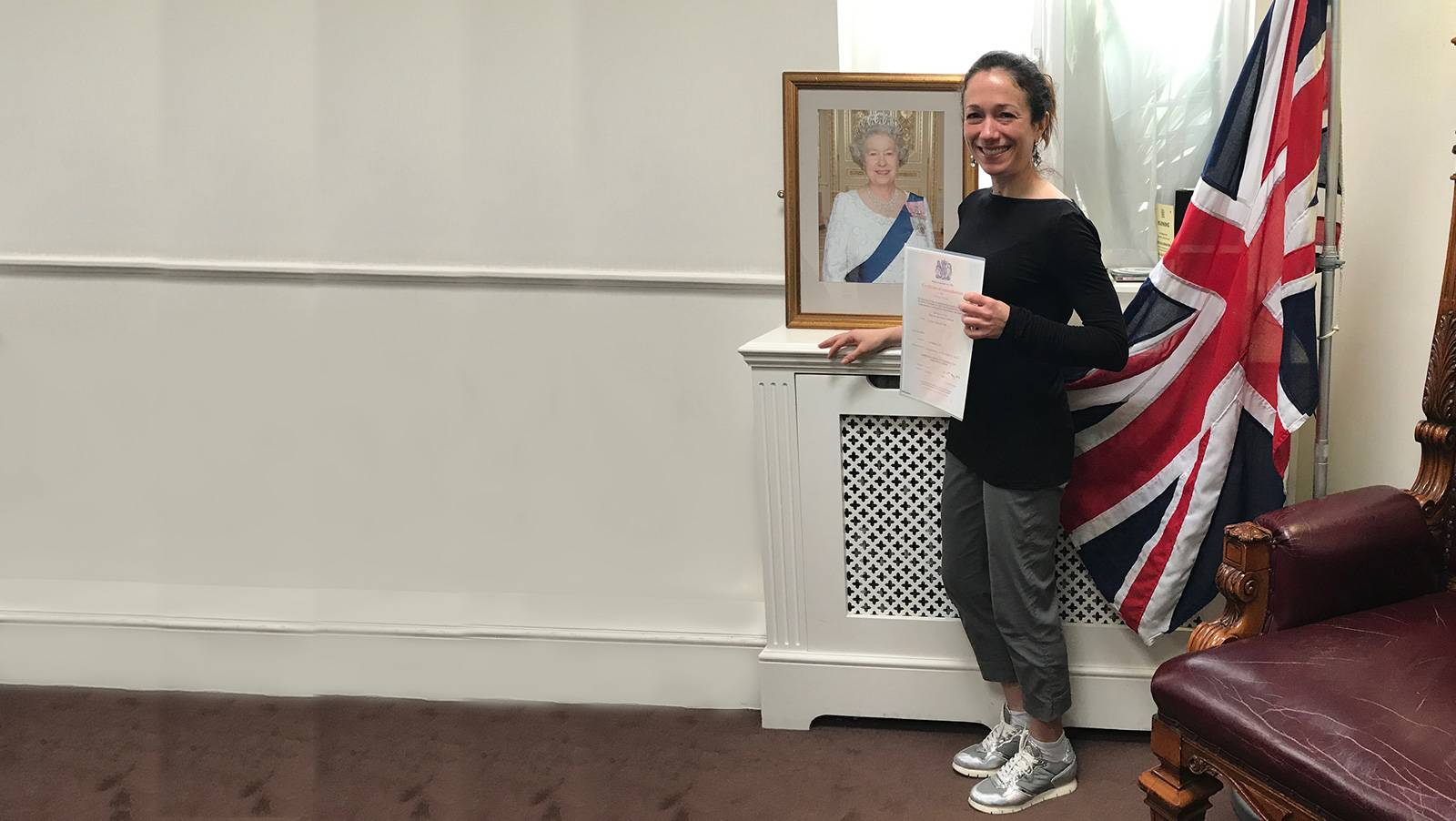 Becky's Affiliated: CalvinAyre.com's role in my journey to British citizenship
