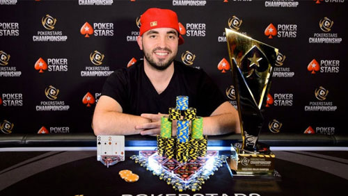Bryn Kenney wins the €100k SHR PokerStars Championships Monte Carlo