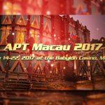 Asian Poker Tour announces APT Macau 2017 schedule