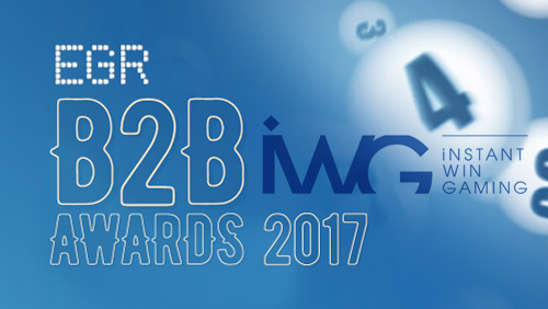 IWG crowned online lottery supplier at EGR B2B Awards