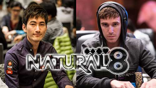 Kosei Ichinose and Adrian Attenborough join Natural8's Team Hot