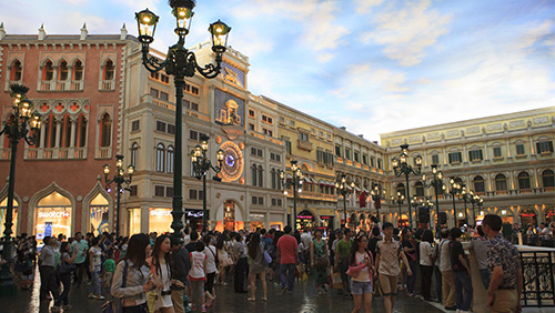 Macau visitors grew 3.7% in May