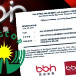 Philippine online gambling operators ordered to stop using BBIN game content