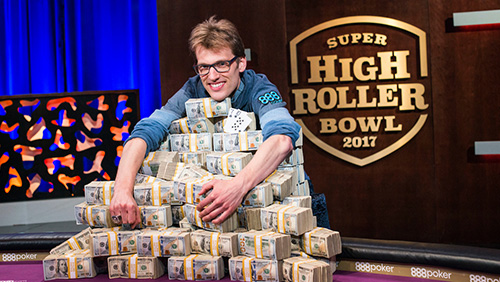 Super High Roller Bowl: Vogelsang drowns Schindler on river to win $6m