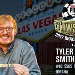 WSOP Review: impressive turnout for $565 PLO as Tyler Smith takes gold