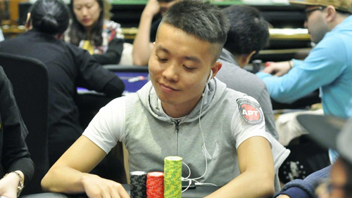 Yang Song skyrockets to the top of Main Event Day 1B