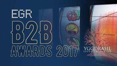 Yggdrasil named Slot Provider of the Year at EGR B2B Awards for second consecutive year