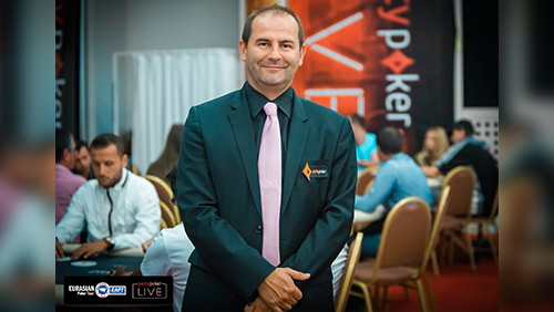 Christian Scalzi making dreams come true for the players of partypoker