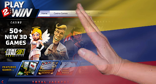 Play2Win is Colombia's first blocked online gambling operator