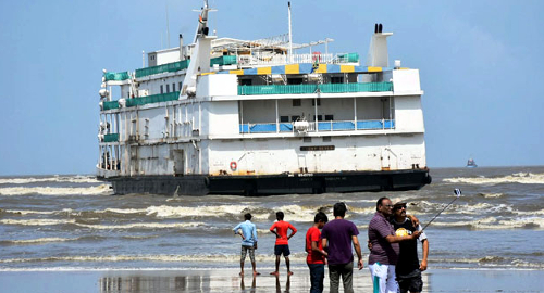 goa-mv-lucky-7-casino-aground