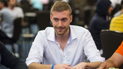 Manig Loeser turns into a winner at the Triton Super High Roller Series