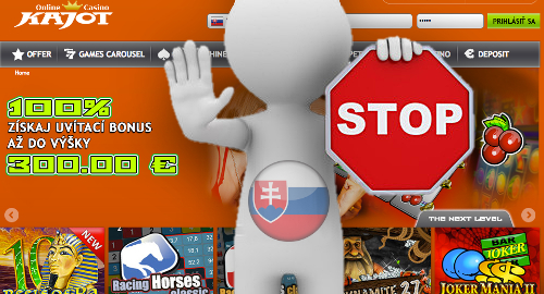 Slovakia blacklists first 10 online gambling operators