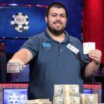 WSOP Rookie Scott Blumstein wins the third largest Main Event in history