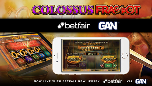 Betfair NJ partners with GAN & Colossus Bets to introduce cash-out to US gaming audiences