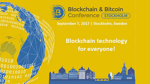 Blockchain & Bitcoin Conference Stockholm to feature discussions on ICOs and blockchain development