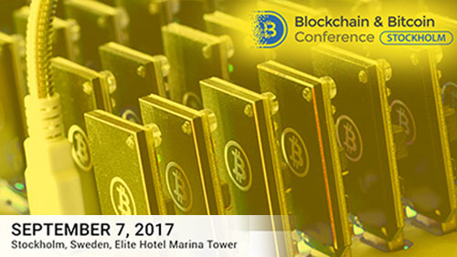Blockchain conference attendees to see newest hardware and software for their projects in Stockholm