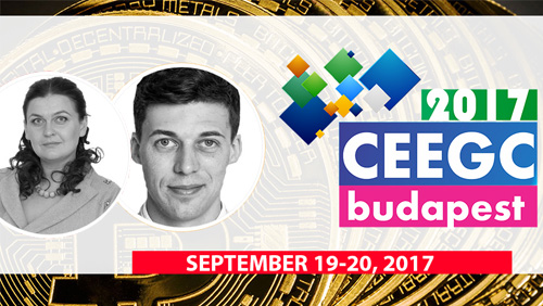 CEEGC2017 announce more keynote speaker for the Crytocurrency Talks and the Eastern European panel