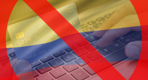 Colombia to block payments to international gambling sites