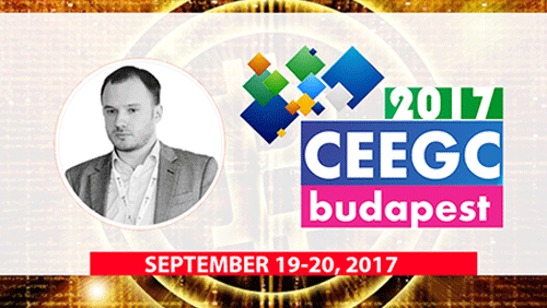 "Ivan Kondilenko will speak about bitcoin in online casino and join ""Innovation Talks - The Cryptocurrency Effect"" panel at CEEGC2017"