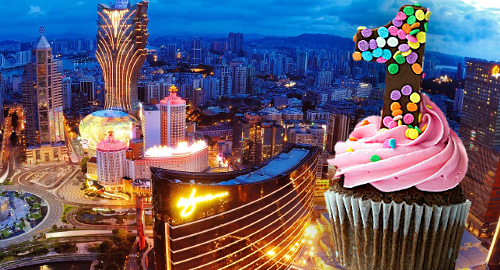 Macau casinos extend revenue winning streak to one year