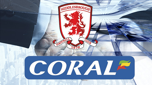 Middlesbrough extends Coral contract for a further three years