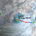 Tropical storm Hato brings Macau to standstill