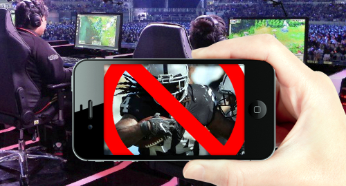 Young Americans prefer viewing eSports as NFL ratings tank