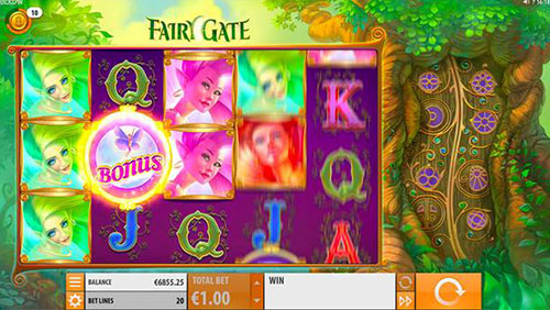 Quickspin heads into the woods with Fairy Gate