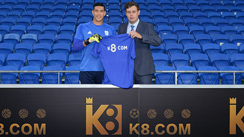Cardiff City FC is delighted to announce that it has agreed an exclusive betting partnership with K8.com