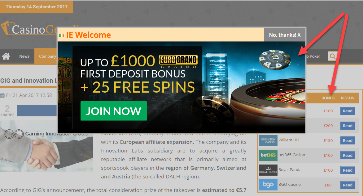 Are gambling affiliates all F'd?