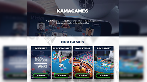 KamaGames announces latest update to its portfolio of award winning social casino titles