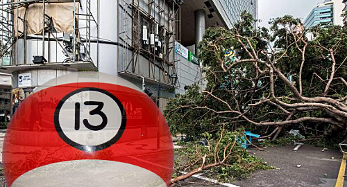 Typhoon Hato can't snap Macau casinos' 13-month winning streak