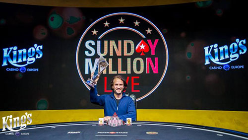 Salewski wins PokerStars Sunday Million Live; Brits begin well in WCOOP