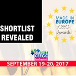 Shortlisted companies for the CEEG Awards 2017 categories announced
