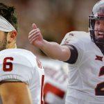 Two Big 12 quarterbacks battling on Heisman Trophy betting lines