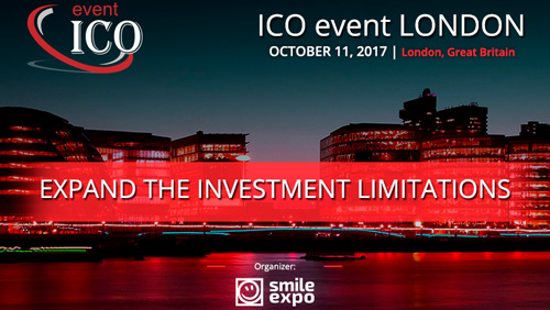 ICO event London will gather renowned investors and founders of blockchain startups