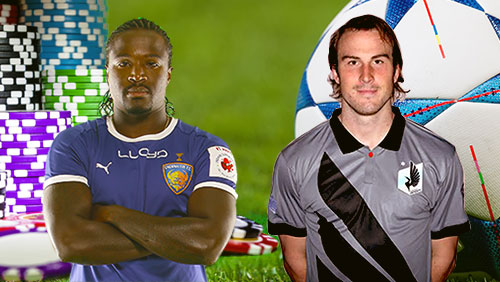 Mendy leaves football to play poker, Kallman leaves poker to play football