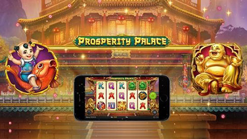 Money can buy happiness in Play'n GO's Prosperity Palace