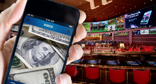 Nevada casino sportsbooks set new betting handle record