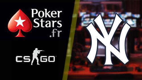 PokerStars.fr sponsor CS:GO league; New York Yankees enter esports business
