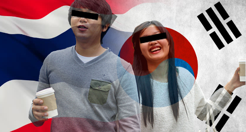 Are all South Koreans in Thailand running online gambling sites?
