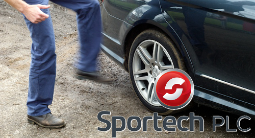 Sportech invites would-be buyers to kick its tires