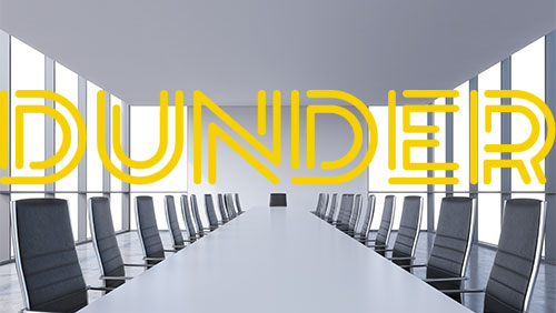Thomas Rosander appointed CEO of Dunder