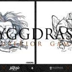 Yggdrasil showcasing artistic talent during Inktober