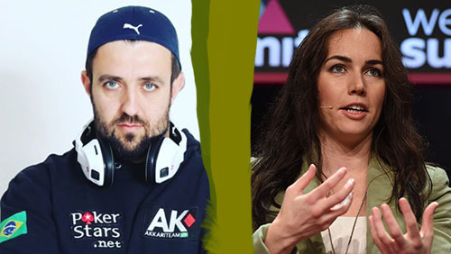 André Akkari with esports pivot; Liv Boeree in new science documentary