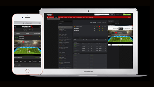 Betsson Group live with Opta 3D football visualisation