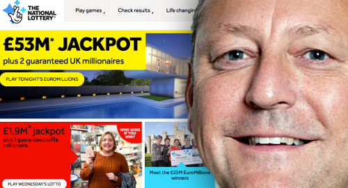 Camelot has new CEO, plan to boost National Lottery sales