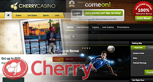 cherry-comeon-integration-online-gambling