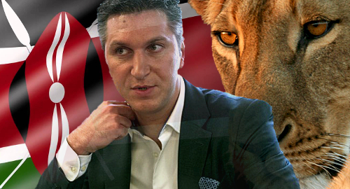 Ex-Amaya CEO Baazov accused of stealing from Kenya charity